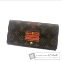 LOUIS VUITTON wallet & Sarah M60415 wallet (purse and) Monogram Canvas ladies