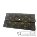 LOUIS VUITTON wallet & Sarah M61734 wallet (purse and) Monogram Canvas ladies