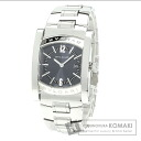Authentic BVLGARI with logo Watch Stainless steel SS  Ladies