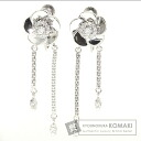 0.18ct Diamond Flower Earring PlatinumPT850  9.3