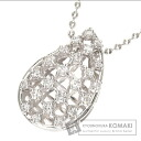 Authentic TASAKI  Diamond Necklace PlatinumPT850 Pt900