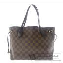 Authentic LOUIS VUITTON  Neverfull PM N51109 Handbag Damier Canvas