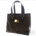 Authentic LOUIS VUITTON  Hampstead PM N51205 Tote bag Damier Canvas