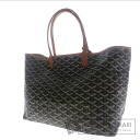Authentic GOYARD  Saint Louis PM herringbone pattern Tote bag PVC Leather