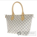 Authentic LOUIS VUITTON  Damier Saleya PM N51183 Handbag Damier Canvas