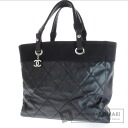 Authentic CHANEL  Barubiarittsu MM Tote bag Coating canvas