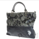 Authentic POLO RALPH LAUREN  Camo Shoulder bag PVC Leather