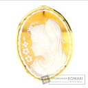 Cameo Michele Esposito Brooch 18K Yellow Gold  7.3