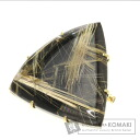 Rutile quartz Pendant Top 18K Yellow Gold  17