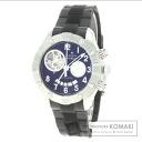 Authentic ZENITH El Primero Defaye Watch stainless steel Rubber  Men