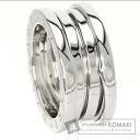 Authentic BVLGARI  B-zero1S Ring 18K White Gold