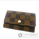 Authentic LOUIS VUITTON  Myurutikure 6 N62630 Key case Damier Canvas