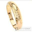 Authentic Van Cleef & Arpels  Logo engraved plain Ring 18K Pink Gold