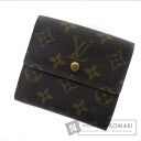 Authentic LOUIS VUITTON  Porutofoiyu Elise M61652 (With coin purse) bi-fold wallet Monogram canvas