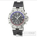 Authentic BVLGARI Diagono Professional Watch SS Rubber  Men