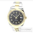 Authentic ROLEX Datejust Watch 18K Yellow Gold SS  Men