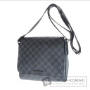 Authentic LOUIS VUITTON  District PM N41260 Shoulder bag Damier Canvas