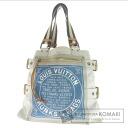 Authentic LOUIS VUITTON  Globe Shopper MM M95114 Tote bag Canvas