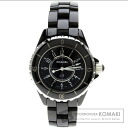 Authentic CHANEL J12 Watch stainless steel Ceramic  Ladies