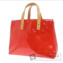 Authentic LOUIS VUITTON  Lead PM M91088 Handbag Vernis