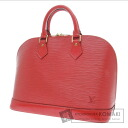 Authentic LOUIS VUITTON  Alma M5214E Handbag Epi Leather