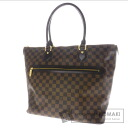 Authentic LOUIS VUITTON  Saleya GM N51181 Tote bag Damier Canvas