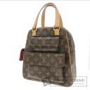 Authentic LOUIS VUITTON  excentri-cite M51161 Handbag Monogram canvas