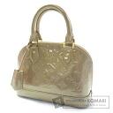Authentic LOUIS VUITTON  Alma BB M91752 Handbag Monogram Vernis