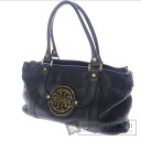 Tory Burch logo shoulder bag Leather Womens