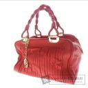 BALLY braided hair gathered design handle shoulder bag Leather Womens
