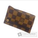 Authentic LOUIS VUITTON  ClochetteGM N62660 Key case Damier Canvas