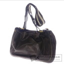Authentic BALLY  gathered Shoulder bag Leather