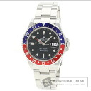 Authentic ROLEX GMT Master Watch stainless steel SS  Men