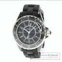 Authentic CHANEL J12 Watch Ceramic Rubber  Ladies