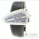 Authentic PHILIPPE CHARRIOL Iron Watch stainless steel Leather  Men