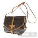 Authentic LOUIS VUITTON  Saumur M M42254 Shoulder bag Monogram canvas