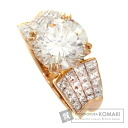 3.779ct Diamond Ring 18K Pink Gold  9.1