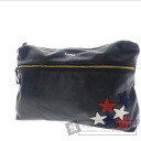 Authentic SELECT BAG  KINGZ star one-point design business bag Leather