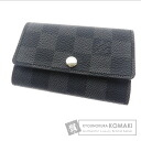 Authentic LOUIS VUITTON  Myurutikure 6 N62662 Key case Damier Canvas