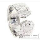 Authentic CARTIER  2000 Xmas limited C2 / diamond Ring 18K White Gold
