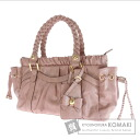 Authentic Samantha Thavasa  gathered 2way Shoulder bag Leather