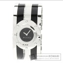 Authentic GUCCI Line Bangle Watch stainless steel Stainless SteelxPlat stick  Ladies