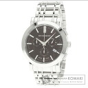 Authentic BURBERRY Heritage Watch stainless steel SS  Men