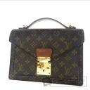 Authentic LOUIS VUITTON  Monceau 26 M51187 Handbag Monogram canvas