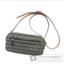 Authentic COACH  6341 Mini Signature pochette Shoulder bag Canvas Leather