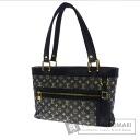 Authentic LOUIS VUITTON  Rushiyu PM M92676 Handbag Canvas