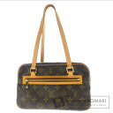 Authentic LOUIS VUITTON  Cite MM M51182 Shoulder bag Monogram canvas