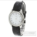 Authentic LONGINES Grand Classic Watch SS Leather  Men