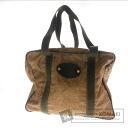Authentic BORBONESE  Quail pattern Shoulder bag Nylon