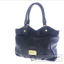 Authentic MARC BY MARC JACOBS  2way with logo Shoulder bag Leather